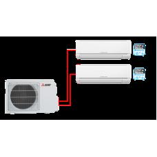 Mitsubishi Electric MSZ-HJ25VA ER1*2 / MXZ-2HJ40VA ER1